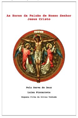 3a. Hora da Paixão do Senhor Jesus -Das 7 as 8 da noite