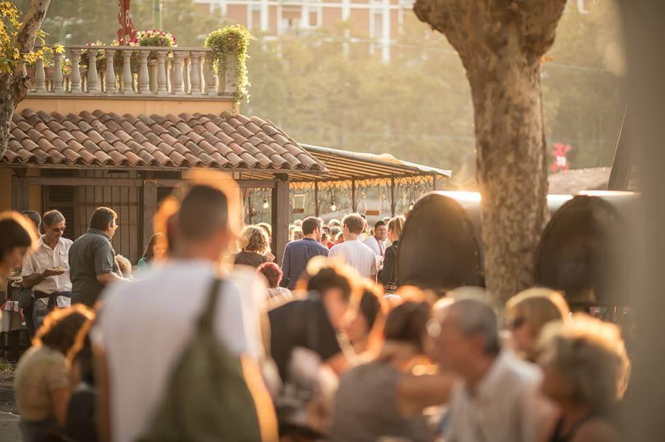 Piazza Campo del Palio, festival delle Sagre astigiane
