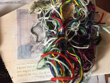 Mixed media collage, Sharony Green, Assistant Professor, History