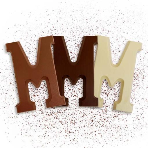 Schoko-Großbuchstabe M