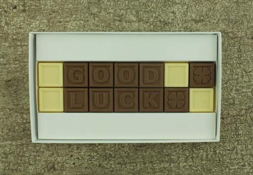 14er-Schoko-SMS - Good luck
