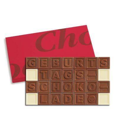 28er-Schoko-SMS - Geburtstagsschokolade