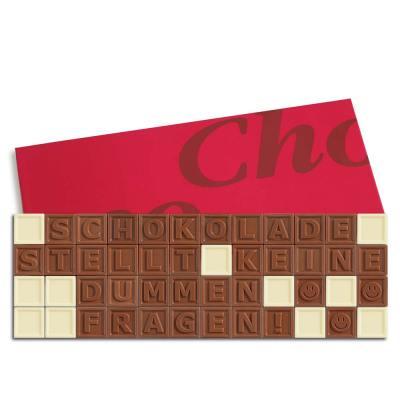 48er-Schoko-SMS - Schokolade stellt keine dummen Fragen!