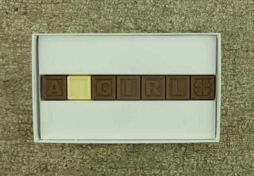 7er-Schoko-SMS - A girl