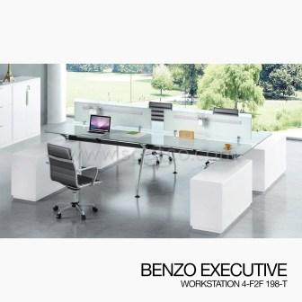 BENZO EXECUTIVE WORKSTATION 4-F2F--OFD-EX-132