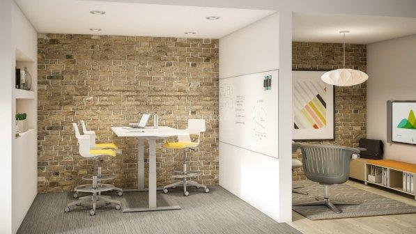 Pangea Adjustable Desk (OFD-HAD105)