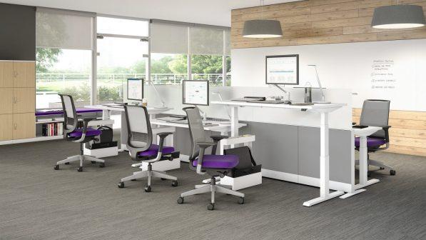 Pangea Adjustable Desk (OFD-HAD123)