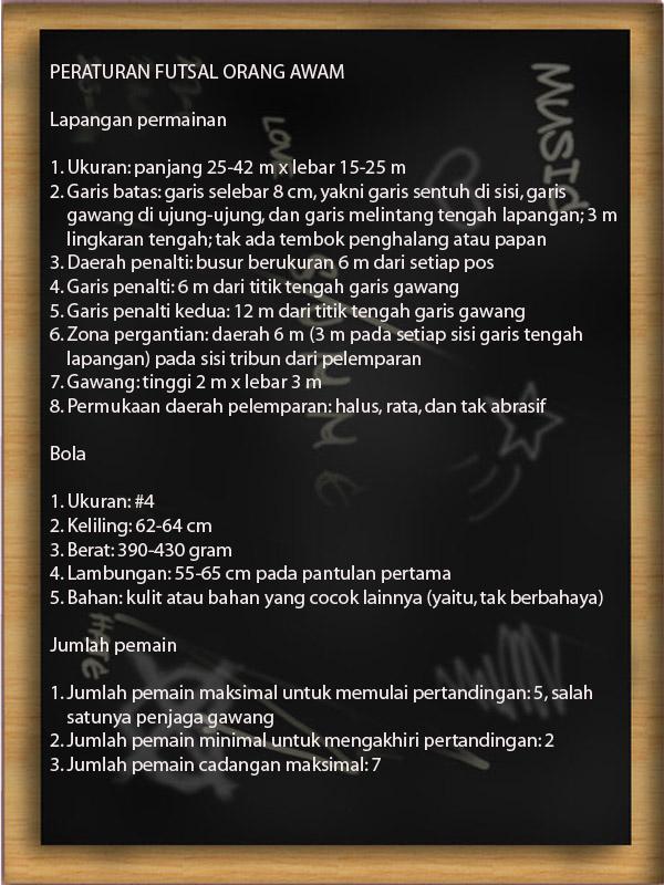 Peraturan Bola Futsal : peraturan, futsal, Futsal, Peraturan, Strategi, Sahabat