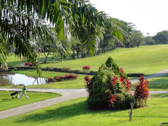 Wisata Balikpapan Lamin Golf Karang Joang