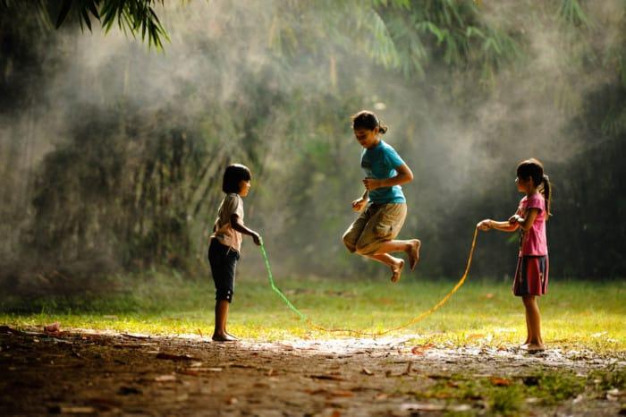 Permainan Masa Lalu Permainan Tradisional Lompat tali