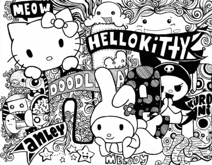 Gambar Doodle Art HD