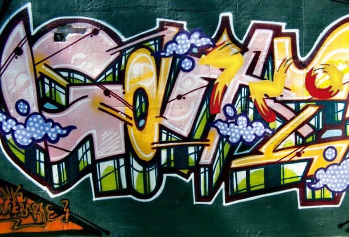 Gambar Graffiti 3 Dimensi