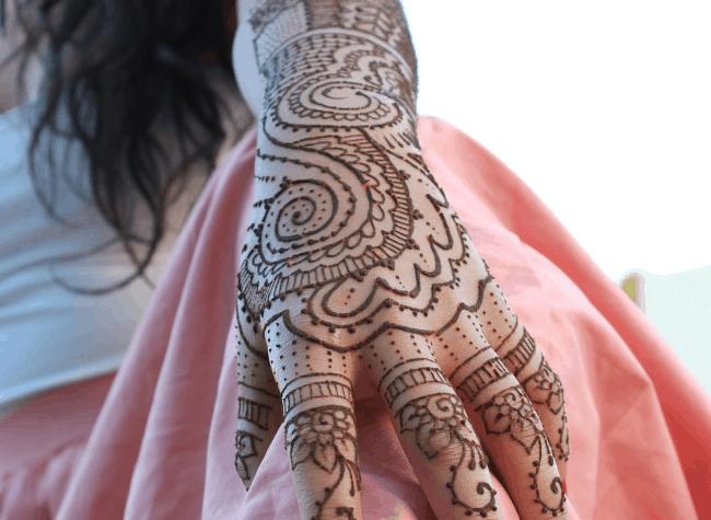 Design Henna Pengantin