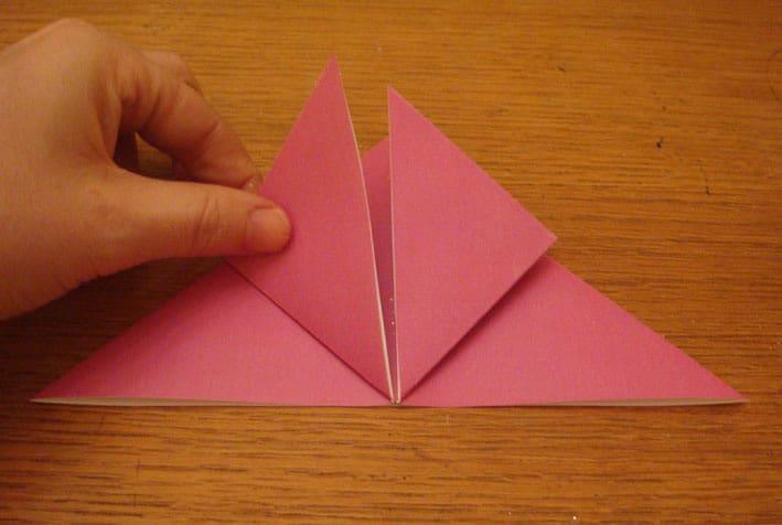 Cara Membuat Bunga dari Origami