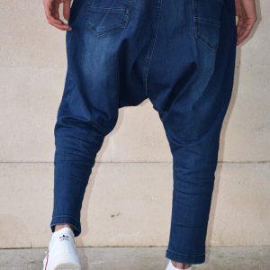 sarouel jeans stretch bleu indigo confort sahabi