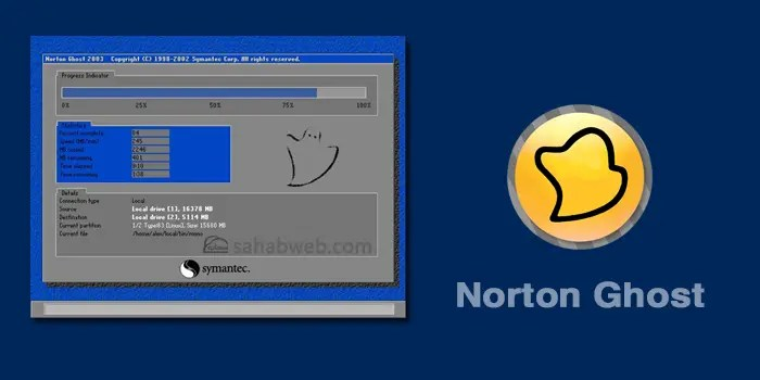 مميزات تطبيق norton ghost لاسترجاع نسخة الويندوز