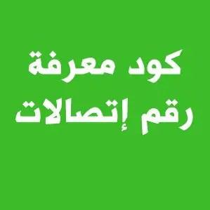 كود معرفة رقم اتصالات مصر الخاص بي رقم الخط