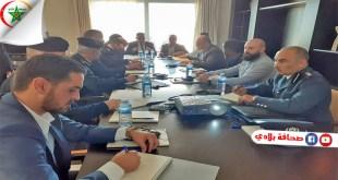 لقاء بين رئيس جهاز مكافحة الهجرة غير الشرعية الليبي و رئيس المنظمة الدولية للهجرة