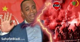 جمهور الوداد غاضب على رئيس الفرقة سعيد النصيري