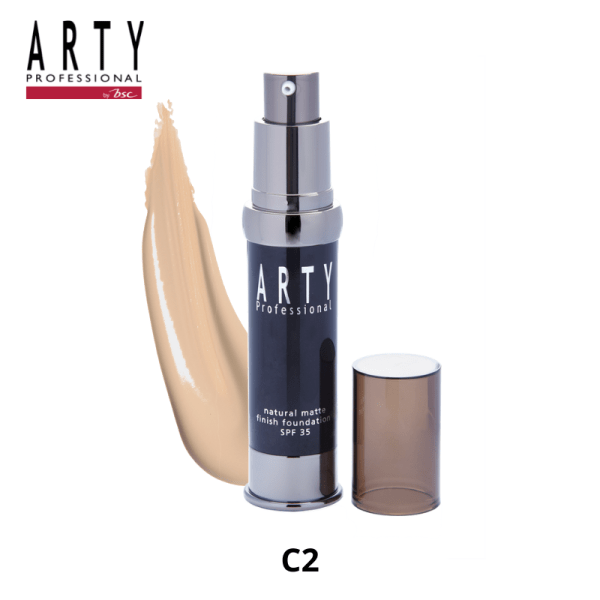 Arty Professional ARTY PROFESSIONAL NATURAL MATTE FINISH FOUNDATION SPF 35
