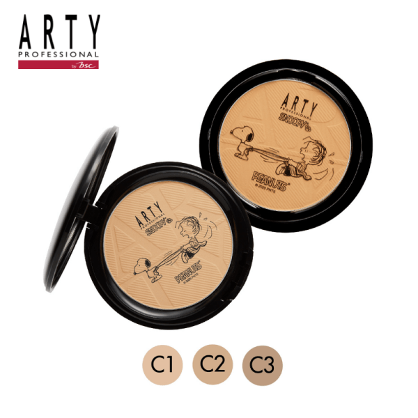 Arty Professional ARTY PROFESSIONAL X SNOOPY PERFECT POWDER FOUNDATION SPF38 PA+++