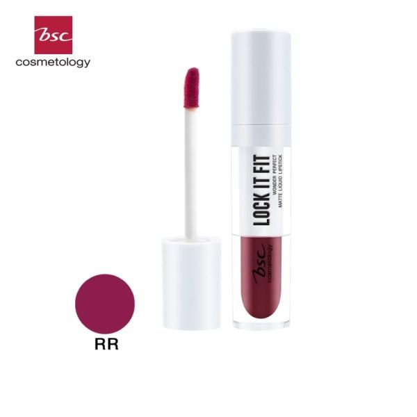 Bsc Cosmetology BSC COSMETOLOGY LOCK IT FIT WONDER PERFECT MATTE LIQUID LIPSTICK