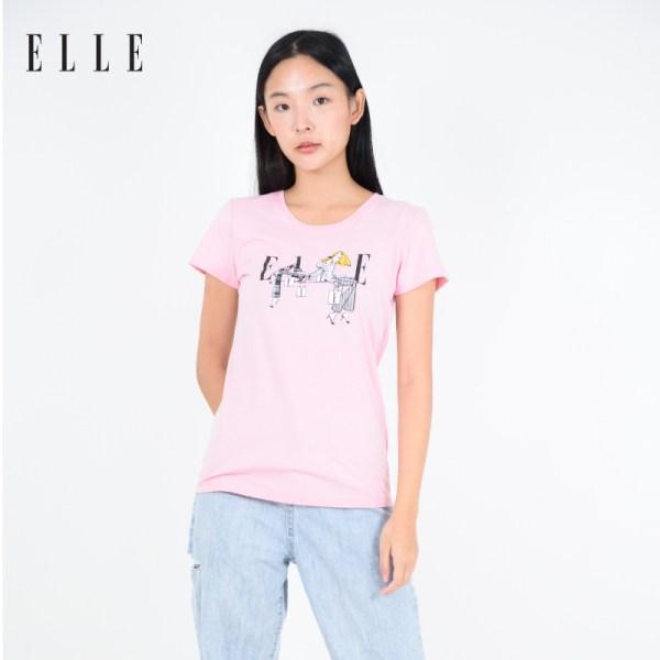 ELLE BOUTIQUE ELLE Amour Limited Edition T-SHIRT (W3K545)