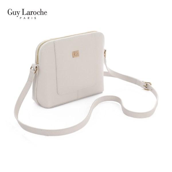 Guy Laroche Leather Guy Laroche กระเป๋าสะพายสตรี ( สีดำ ) - AGH3681BLX