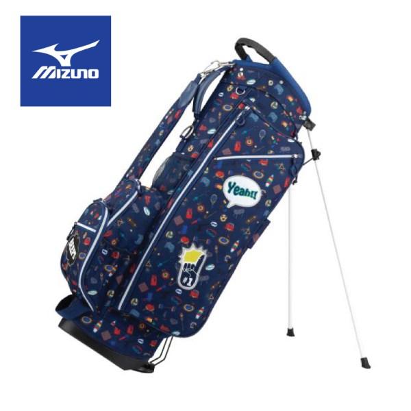 Mizuno golf Mizuno Golf ถุงกอล์ฟมิซูโน่ รุ่น Enjoy Sports Stand Bag สีน้ำเงิน ถุงกอล์ฟ มิซูโน่ กอล์ฟ