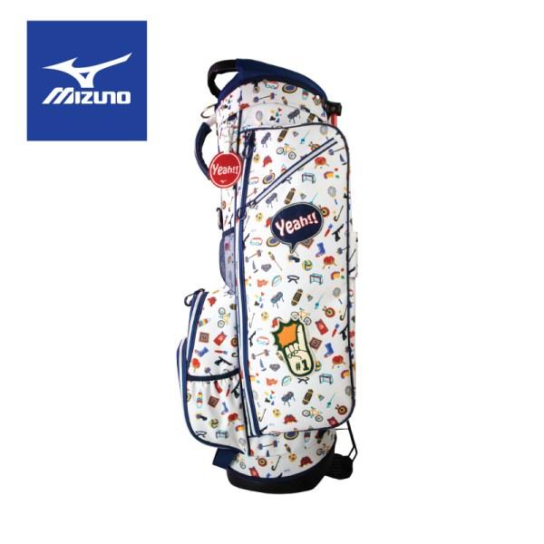 Mizuno golf Mizuno Golf ถุงกอล์ฟมิซูโน่ รุ่น Enjoy Sports Stand Bag สีขาว ถุงกอล์ฟ มิซูโน่ กอล์ฟ