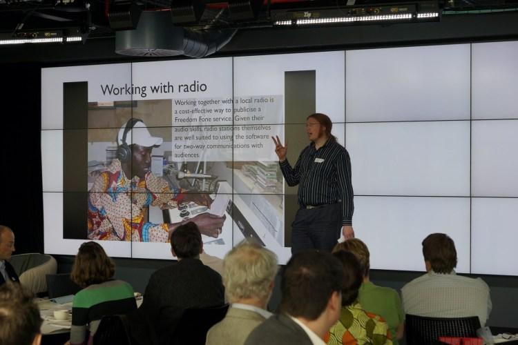 Sri Lanka case study using Sahana and Freedom Fone presented in UK