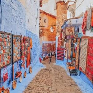 Chefchaouen 4 days desert trip from Marrakech