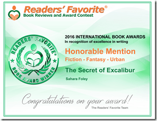 RF AWARD EXCALIBUR