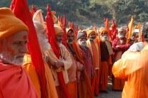 मां शाकुंभरी देवी के दरबार में पहुंचा साधु समाज !