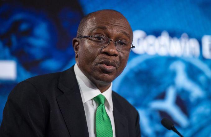 Governor of the Central Bank of Nigeria, Godwin Emefiele.