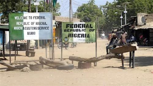 Nigeria Cameroon border