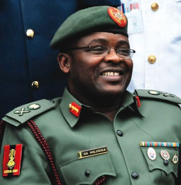 Former Chief of Army Staff, Mr. Azubuika Ihejirika