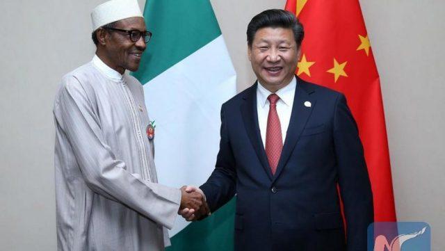 File Photo: Nigerian President Muhammadu Buhari and Chinese President, Xi Jinping