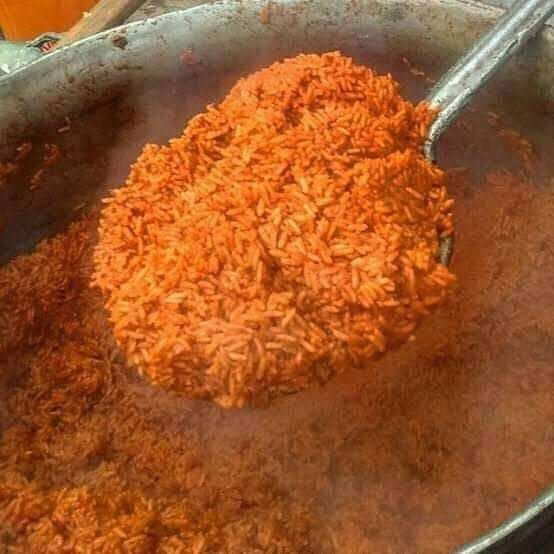 Party jollof rice photo used to illustrate story.