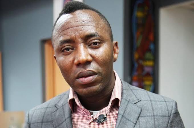 The author, Omoyele Sowore