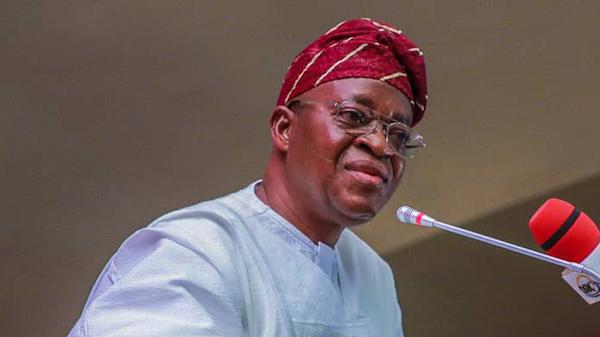 Osun State Governor, Gboyega Oyetola.