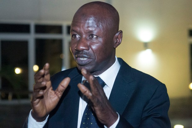 Acting Chair of the EFCC, Ibrahim Magu