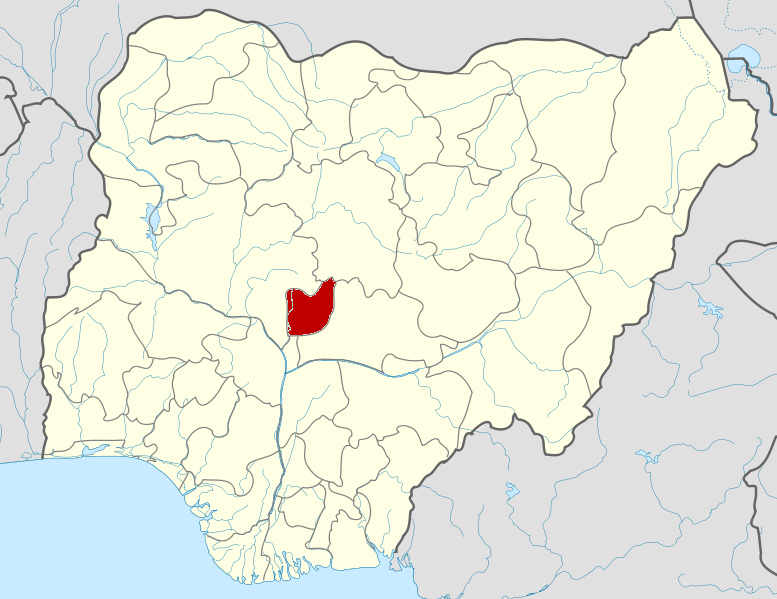 Location of Federal Capital Territory in Nigeria