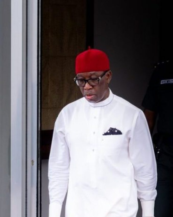 Delta state governor Ifeanyi Okowa