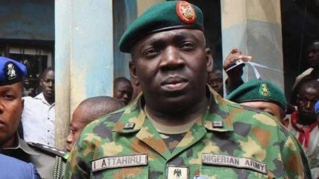 Chief of Army Staff Major General Ibrahim Attahiru
