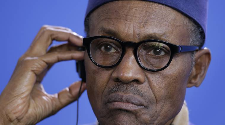 Muhammadu Buhari, Nigeria's President.