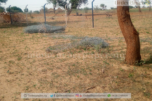 Ongoing fencing of the farms