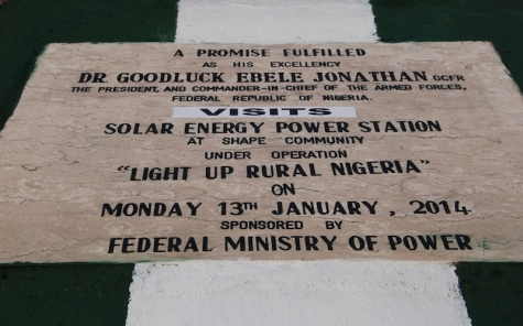 project light up rural nigeria