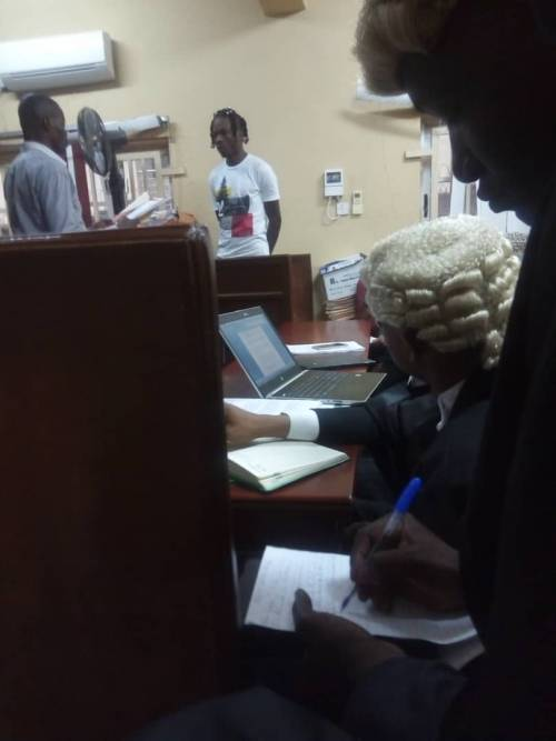Image result for Naira Marley court naira marley court hearing: here's why rapper is likely to get bail today NAIRA MARLEY COURT HEARING: HERE'S WHY RAPPER IS LIKELY TO GET BAIL TODAY IMG 20190520 WA0009