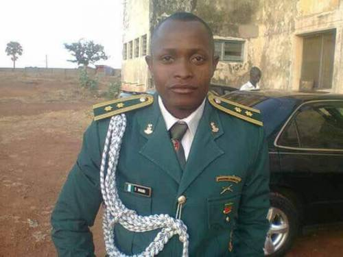 Nigerian Aemy Captain gruesomely killed in Chibok